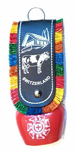 (Tej Gifts Ddlj Bell Swiss Cow Bell - size 3 - (13.5 X 5 Cm))