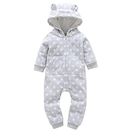 d3cd11046 Amazon.com  Baby Winter Warm Thicken Jumpsuit