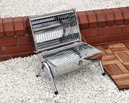 Kingfisher Barril portable para asar de acero inoxidable ...