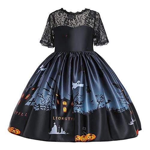 Sevens Costumes Ideas - WUAI Halloween Baby Girl Pumpkin Dress