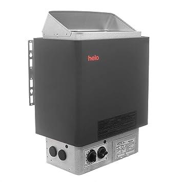 HELO CUP Estufa de sauna eléctrica, Rango de poder: 4.5 kW; 6.0 kW; 8.0 kW; ...