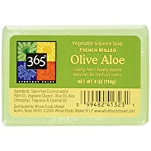 365 Everyday Value Olive Aloe Vegetable Glycerin Soap, 4 oz