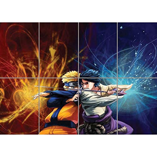 NARUTO MANGA ANIME FIGHT SWORD JAPAN CARTOON GIANT