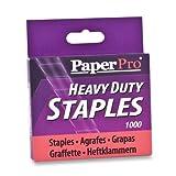 Wholesale CASE of 25 - Accentra PaperPro Heavy Duty Staples-Heavy-duty Staples,1/2'' Crown/Leg,100 per Strip, 1000/BX