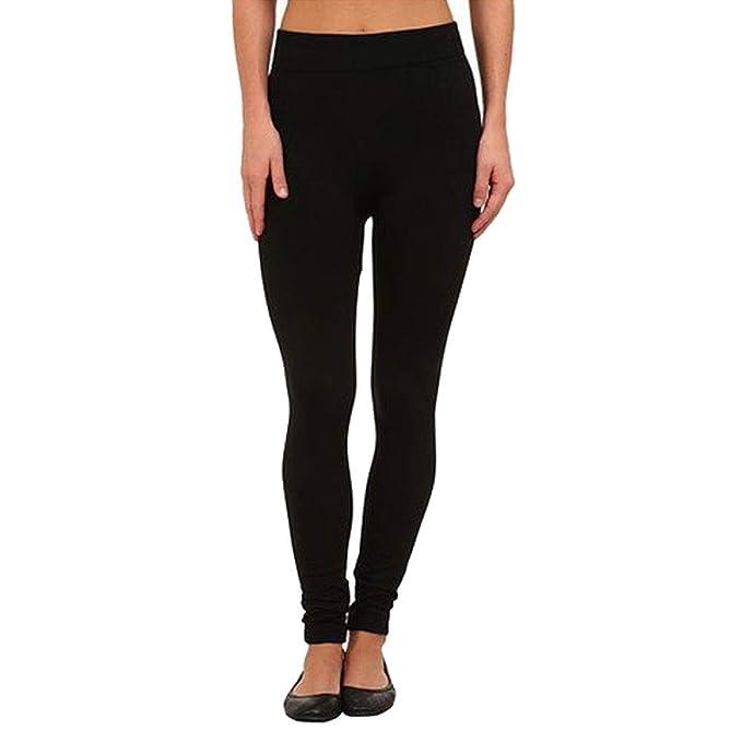 44603b8125432f Nicole Miller Fleece Lined Seamless Leggings - Black - M/L at Amazon ...