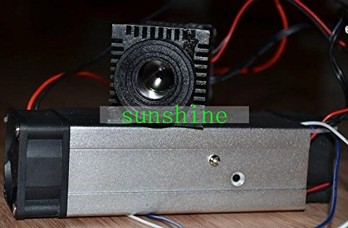 (High Power 5W IR Diode Laser 808nm 810nm 4W 4000mw Infrared Laser Dot Module 12V TTL )
