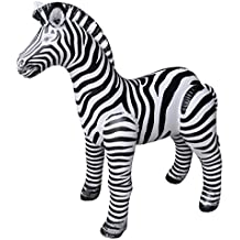Jet Creations Inflatable Zebra, 32 inch