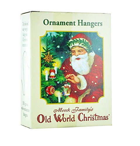 Old World Christmas  Ornament Hangers  100 Count  Metal