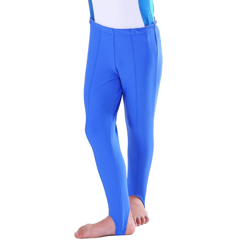 Choomomo Kids Boys Girls Stretchy Stirrup Ballet Dance Gymnastic Leggings Tights Yoga Running Active Leggings Pants