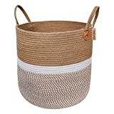 CHICVITA Extra Large Jute Basket Woven Storage