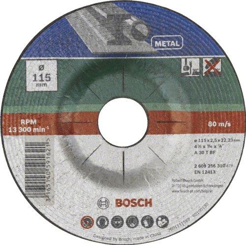 3 opinioni per BOSCH Mola Taglio Centro Depresso, Metallo 115 X 22,23 X 2,5 Mm