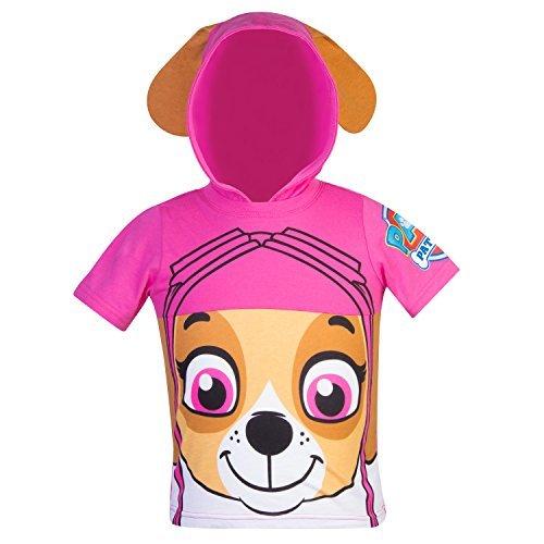 Nickelodeon PAW Patrol Hooded Shirt: Skye, Everest - Girls (Pink Skye, 3T)]()