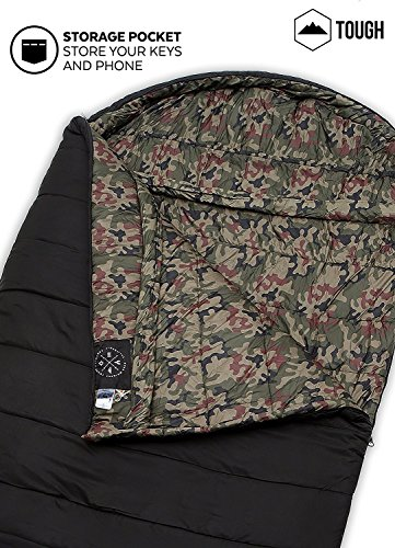 Den Colossal Winter Dobbelt sovepose-XXXL hætte-2583