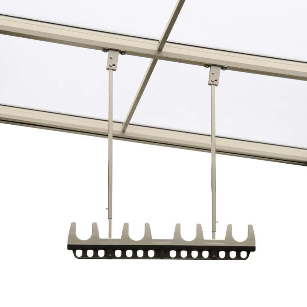 三協アルミ 竿掛け 吊り下げ型 調整式 ロング 2本入り SATV-03K-2L  ブラック B00GRFPTDU 10054 選択してください:ブロンズ(BR) 選択してください:ブロンズ(BR)