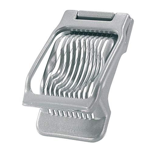 Westmark Eisnijder voor ronde en ovale plakjes, individueel gespannen roestvrijstalen snijdragen, aluminium/roestvrij…