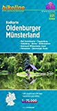 Bikeline Radkarte Oldenburger Münsterland 1:75 000
