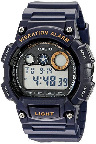 (Casio Men's W735H-2AVCF Super Illuminator Blue Watch)