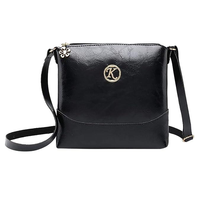 Amazon.com: Moda Lady Pequeño Paquete Cuadrado Letra Bolso ...