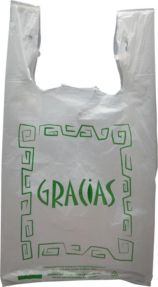 Paquete de 1000 bolsas de plástico con texto en inglés ...