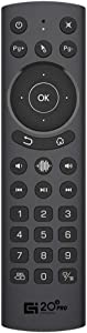 Sanzhuo G20 Pro Remote Control 2.4G Wireless Voice Backlit Buttons Air Mouse Remote for Nvidia Shield/Android TV Box/PC/Smart TV Remote