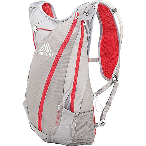 Gregory Mountain Products Mens Tempo 8 Hydration Pack, Carbon Gray, Medium/Large