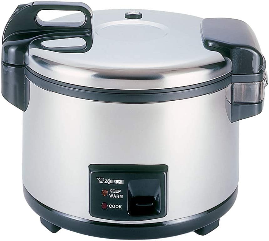 Zojirushi NYC-36 20-Cup (Uncooked) Commercial Rice Cooker and Warmer, Stainless Steel