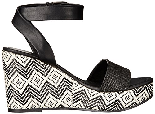 Coconuts by Matisse Women's Lucie Wedge Sandal Black JCvQm