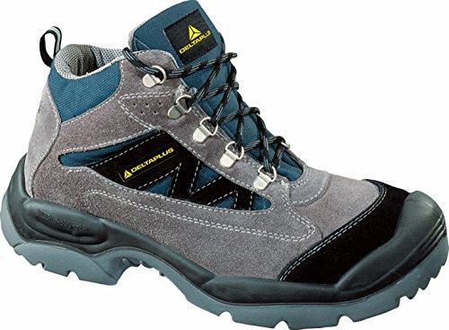 Delta plus calzado - Bota serraje nylon horma ancha poliuretano 2d -s1p talla 41