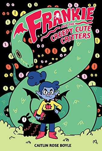 Book Cover: Frankie and the Creepy Cute Critters