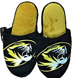 NCAA Missouri Tigers Official Slippers by Forever Collectibles (Medium (9-10))
