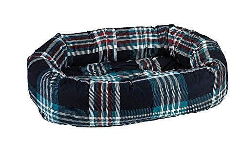 Dog Donut Luxury Bed (Bowsers Donut Bed, Small, Glen Meadow Tartan)