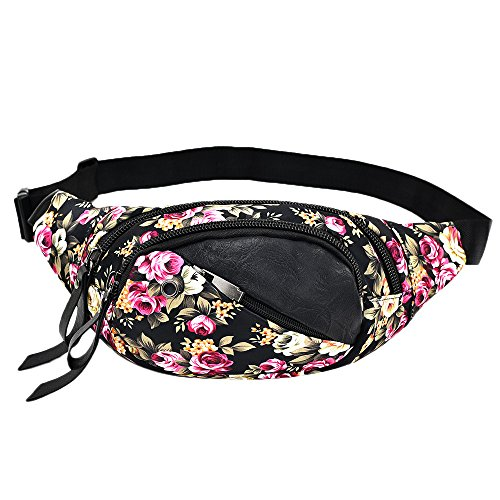 Adult Sexy Bag - Fashion Women Decorative Pattern Waist Bag Gym Fitness Bag Chest Package