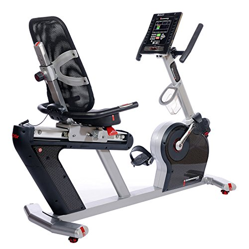 Diamondback Fitness 910SR Seat Recumbent with Electronic Display and Quiet Magnetic (Masterpiece Magazine Rack)