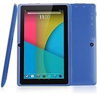 Rikey 7 Pulgadas de Pantalla táctil Tablet PC Android 4.4 1.2GHz Quad-Core 512M + 4G Disco Duro de Almacenamiento con cámaras duales
