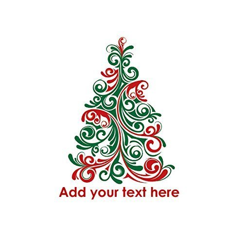 Christmas Tree Tattoo Ideas.Christmas Tree Temporary Tattoo Custom Fake Removable