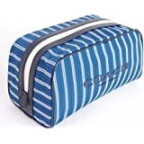 Coach Weekend Travel Kit Nylon, Blue Stripe F93446 DY8