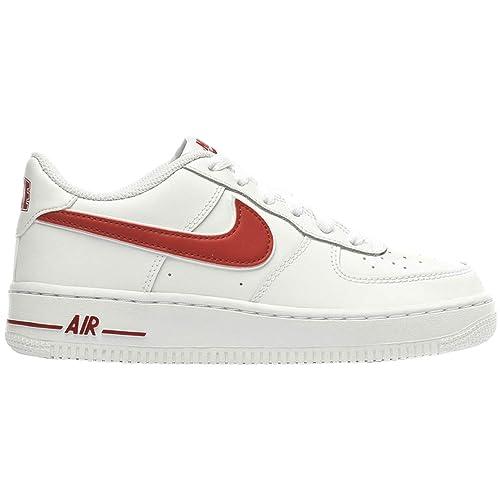 finest selection 039f8 a3f34 Nike Air Force 1-3 (GS), Scarpe da Basket Uomo  Amazon.it  Scarpe e borse