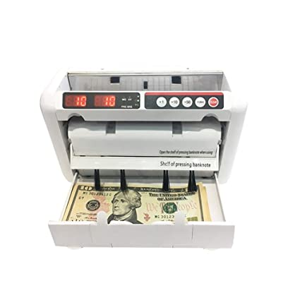 YUN BKCR@ Automatic Multi-Currency Cash Banknote Money Bill Counter Counting Machine LCD Display