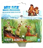 ICE AGE 3 DAWN OF THE DINOSAURS SCRAT & SCRATTE FIGURES by E-SHOP-TOYS