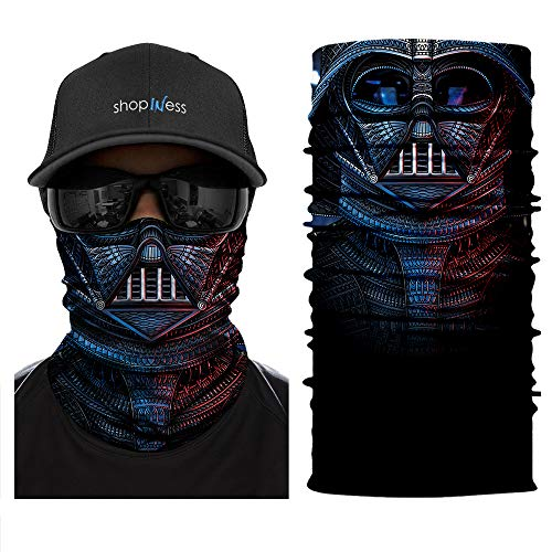 ShopINess Multifunctional Headwear Bandana Darth product image
