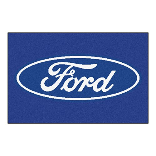 - FANMATS 16072 Ford Oval Starter Rug