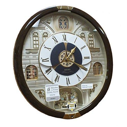Japanese Quartz Alarm Clock - Seiko QXM371BRH
