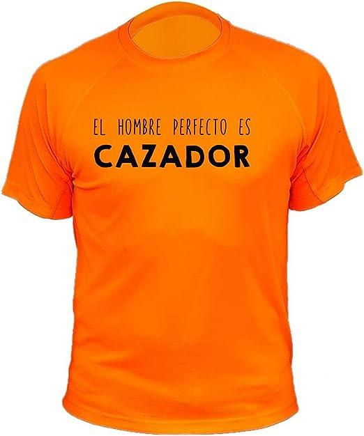 Camiseta de Caza, El Hombre Cazador - Ideas Regalos: Amazon.es ...