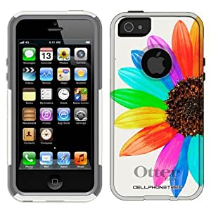 phone covers Otterbox Commuter Colorful Sun Flower Case for iPhone 5c