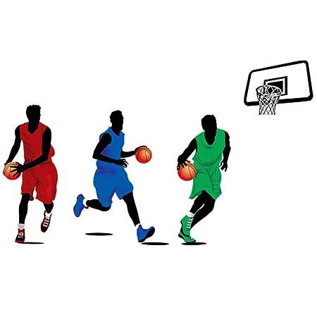 Winhappyhome Deportes Baloncesto estrellas pegatinas de ...