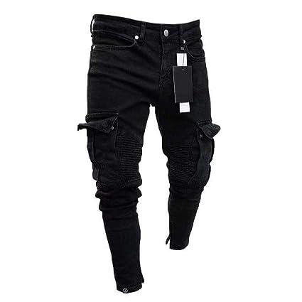 Jeans calientes Pantalones de mezclilla de los pantalones ...