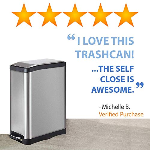 Buy 13 gallon kitchen trash can