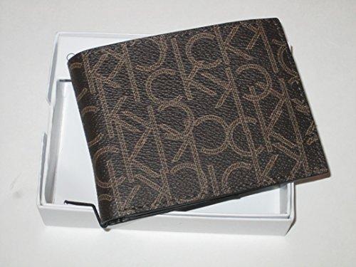 Calvin Klein ck Bifold folio wallet Brown