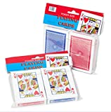 K&A Company Cards Playing Deck Poker 2 Pack Case Pack 72