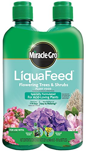 Food Refills Plant (Miracle-Gro LiquaFeed Flowering Trees and Shrubs Plant Food Refill Pack)